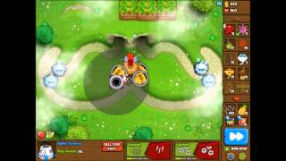 Bloons Monkey City Contested Territory - Moustache (Only 3rd Tier)