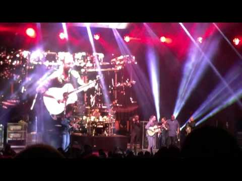 Dave Matthews Band - Ants Marching ending (epic hoe down) - Blossom Music Center - 5/21/2016