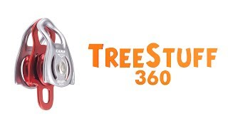Camp Dryad Pro Double Pulley - TreeStuff.com 360 View