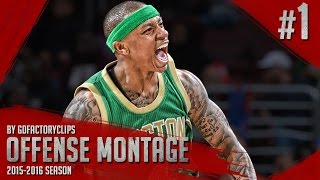 Isaiah Thomas Offense Highlights Montage 2015/2016 (Part 1) - HEART OVER HEIGHT!