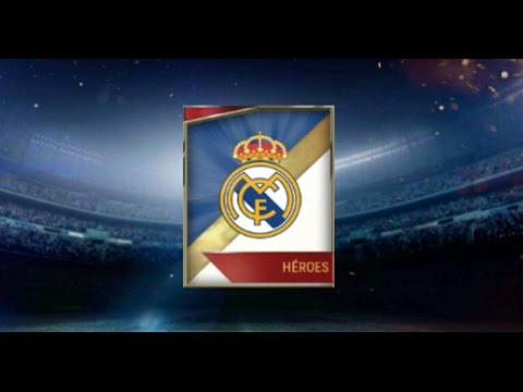 Abriendo Sobre del REAL MADRID de Heroes del Equipo ¿elite? +2 trofeos de elite FIFA MOBILE
