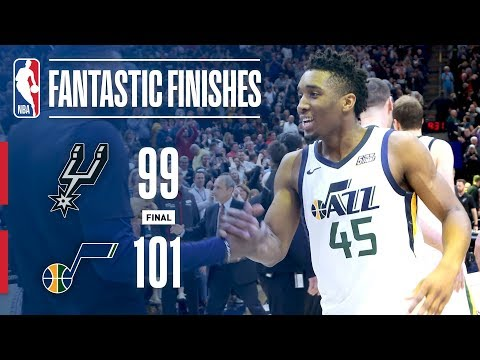 Best Plays From CRUNCHTIME: San Antonio vs Utah
