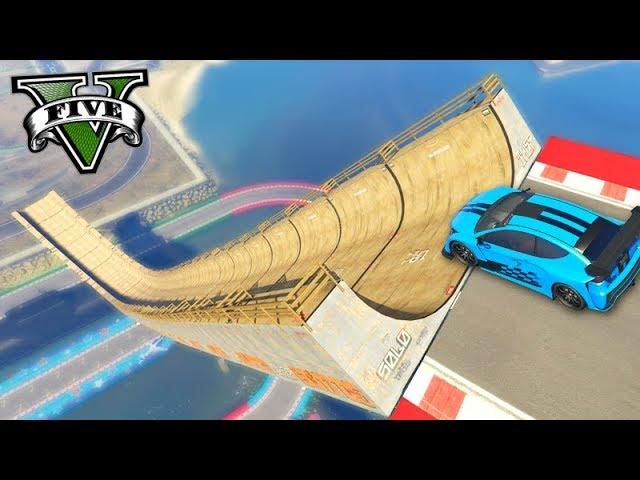GTA V Online: PRIMEIRA CORRIDA de FLASH GT!!! (RAMPA de SKATE)