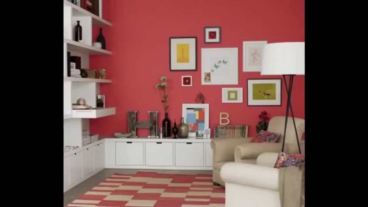 Living room Wallpaper borders decor ideas - YouTube