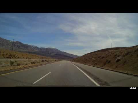 Big Pine to Independence CA | The 50 50 Challenge Dashcam