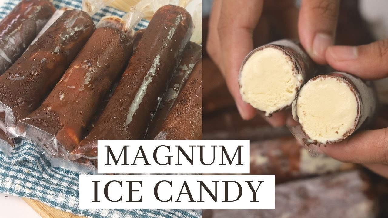 Magnum Ice Candy - 4 Ingredients Recipe