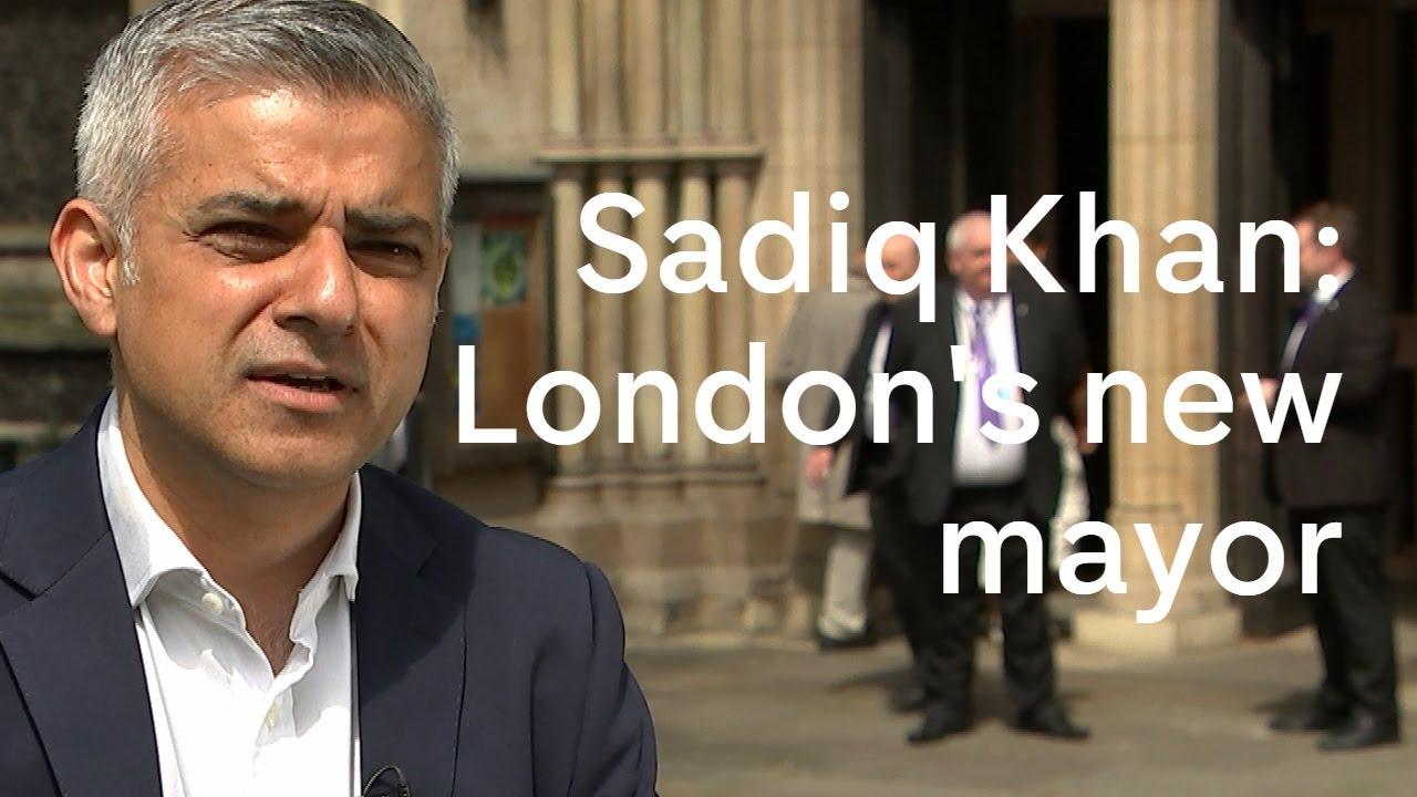 Sadiq Khan: London's new mayor