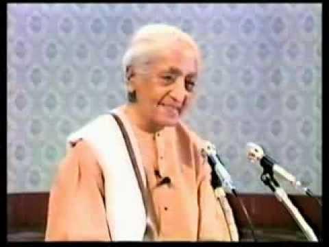 Is marriage necessary - Jiddu Krishnamurthy Answers