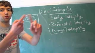 Database Design 7 - Data Integrity