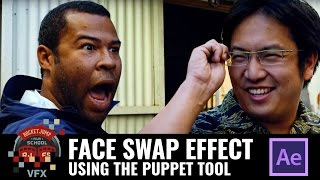 Face Swap Effect: Using the Puppet Tool in AE