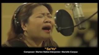"""WCOPA grand champ Marielle Corpuz's sings """"Sa 'Yo"""", an original com..."""