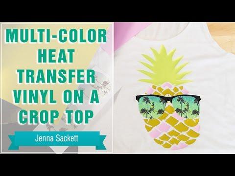 Project Press It Multi Color Heat Transfer Vinyl On A