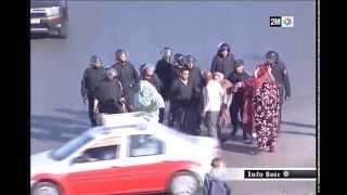 Laâyoune: Perturbations de l'ordre public en marge de la visite de la délégation de l