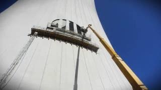 Ekstremalne cięcie betonu | wykonawca julispec.pl | Elektrownia Opole, chłodnia
