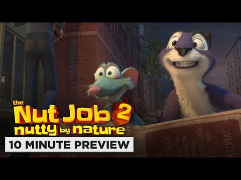 The Nut Job 2: Nutty By Nature  10 Minute P