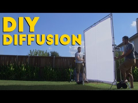 DIY Diffusion & Butterfly Frame