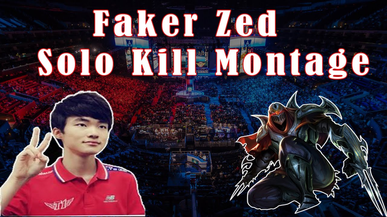 Zed trong tay Faker solo cả thế giới
