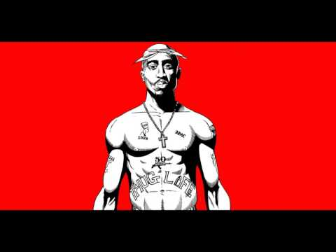 2pac How Do You Want It (Bearded Skull)