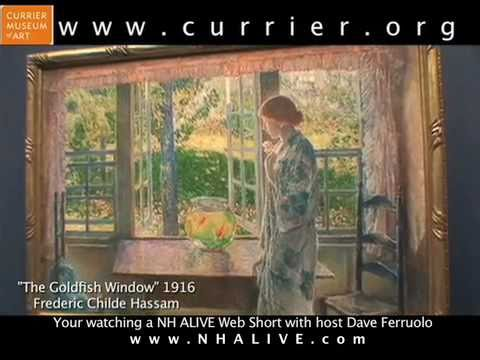 Currier Museum of Art. A NH ALIVE! Web Short.