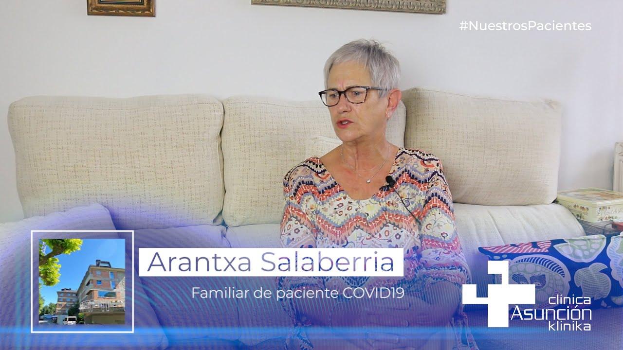"""Arantxa Salaberria: """"Nos hemos sentido acompañados en todo momento por el personal de la clínica"""""""