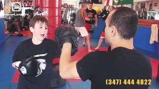 Kickboxing For YOU. In Brooklyn at Lions Martial Arts Center