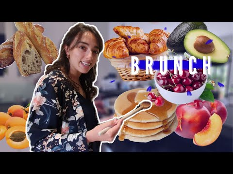 how-to-prepare-a-french-brunch-//-grocery-shopping-in-france-&-best-pancakes-recipe!-fr-&-en-subs