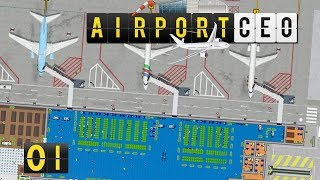 Airport CEO | Flughafen Bau und Management Simulator ► #01 deutsch german