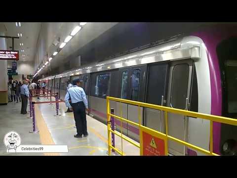 Bangalore World Class Metro Station | Heavy Metro  Metro Inside View