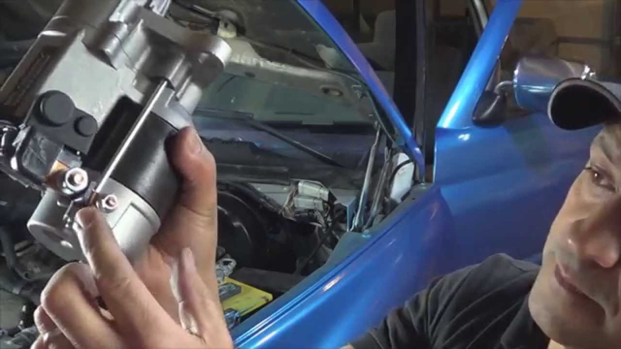 how to diagnose and replace a bad starter on 1994 to 2001 dodge ram trucks by howstuffinmycarworks [ 1280 x 720 Pixel ]