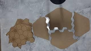 [럭키식스] 워체스트 아크릴, 목재보드판 조립방법