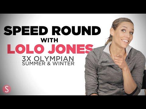 Speed Round with Olympian Lolo Jones | Shape