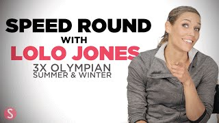 Speed Round with Olympian Lolo Jones | Shape