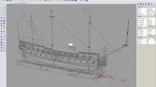 Гото Предестинация - 3. Построение 3D модели в Rhino 5.0, Вставка чертежей