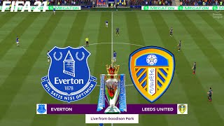 FIFA 21 | Everton vs Leeds United - Premier League - Full Match & Gameplay