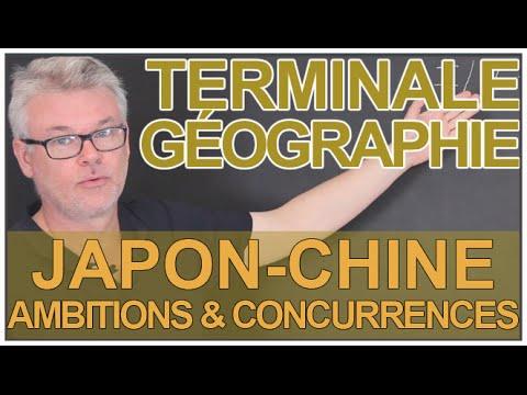 Japon-Chine : ambitions mondiales, concurrences régionales - Géographie - Terminale - Les Bons Profs