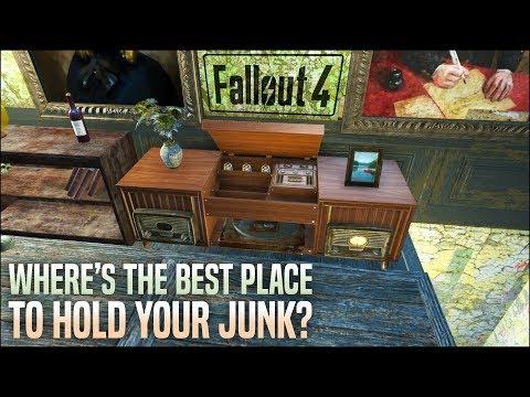 Where is Your Settlement Junk Safe? 🎱 Fallout 4 No Mods Shop Class