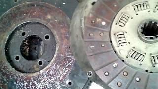 ремонт погрузчика ,сцепление от уаза