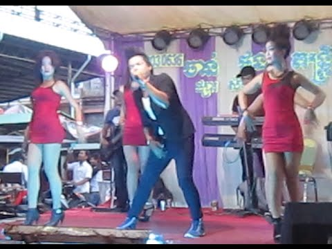 Mini concert of a wedding party in Cambodia