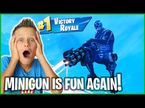 MINIGUN IS FUN AGAIN!!!