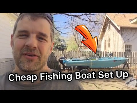 How I Set Up And Modified My Cheap Craigslist Fishing Boat