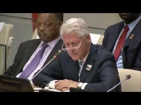 William Jefferson Clinton, keynote at the Nelson Mandela International Day