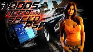 🏁 Todos os Need For Speed Para PSP 🏆
