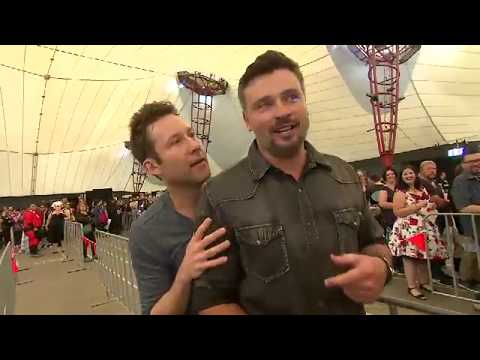 Tom Welling And Michael Rosenbaum In Melbourne At Supanova Expo