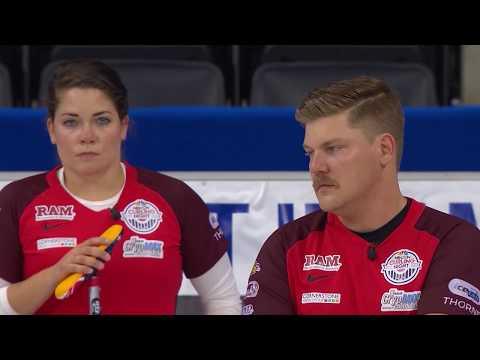 Curling Night In America | Episode 8: U.S. Mixed Doubles vs. Scotland