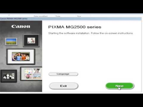 Installasi Driver Printer Canon MG 2570