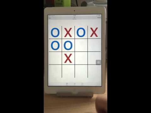 iPad wins 4x4 Tic tac Toe