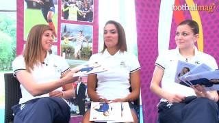 Les Questions décalées avec l'équipe de France féminine de Football