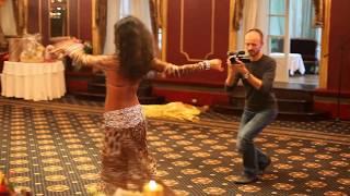 Красивый танец живота Линды | Восточные танцы на свадьбе