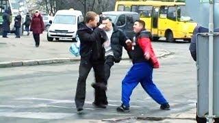 Драка Водителей в Киеве.(, 2014-02-19T16:24:26.000Z)
