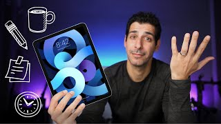 6 Months with the iPad Air 4 - A Long Term Review
